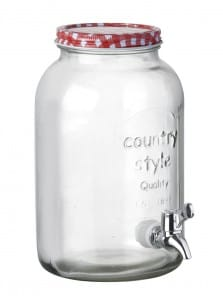 Drinks Bottle Jar with tap