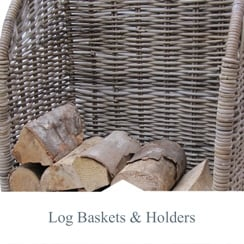 Log Baskets & Holders