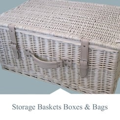 Storage Baskets, Boxes & Bags