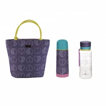 Win a lunch tote, flask and drinks bottle