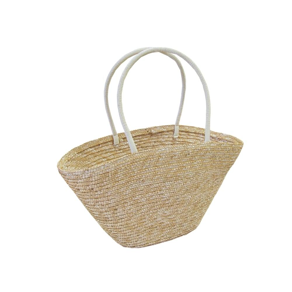 Woven Shopping Basket Uk : Woven straw storage ping bag