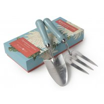 Burgon & Ball Trowel & Fork set - Chrysanthemum