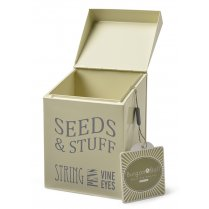 Burgon & Ball Seeds & Stuff Tin - Jersey Cream