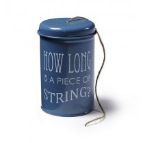 Burgon & Ball String in a Tin - Petrol Blue