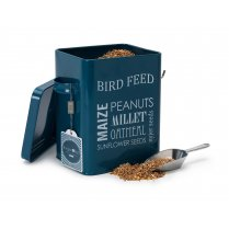 Burgon & Ball Bird Feed Tin - Petrol Blue