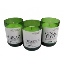 Scented Wine Bottle Candle - Prosecco - Gin & Tonic - Shiraz