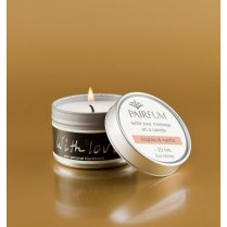 Pairfum Message Candle Tin - Black Orchid