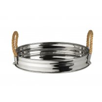 Milan Oval Metal Tray