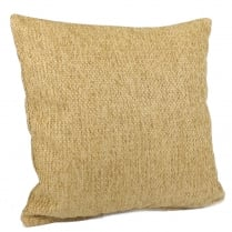 Green Chenille Waves Square Cushion 43cm x 43cm