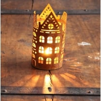 Industrial Chic Style Building Design Tea Light Holder