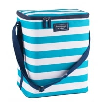 Coast Family Cool Bag by Navigate - Aqua & White Stripe