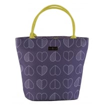 Beau & Elliot Outline Lunch Tote Bag by Navigate - Midnight Purple