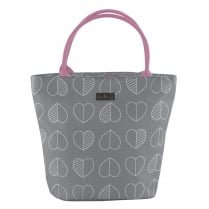 Beau & Elliot Outline Lunch Tote Bag by Navigate - Slate Grey