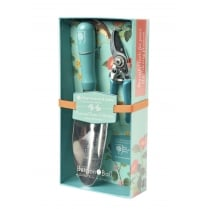 Burgon & Ball Trowel & Secateurs Gift Set - Flora & Fauna Collection