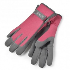 Burgon & Ball Sophie Conran Ladies Gardening Gloves - Raspberry Red