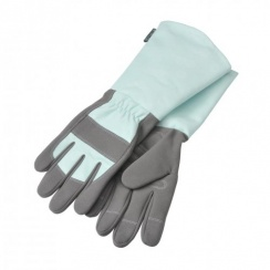 Burgon & Ball Sophie Conran Ladies Gardening Gauntlet Gloves - Blue