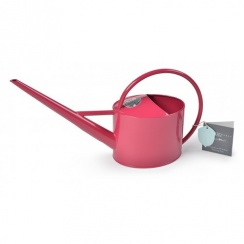 Burgon & Ball Sophie Conran 1.7 Litre Indoor Metal Watering Can - Raspberry