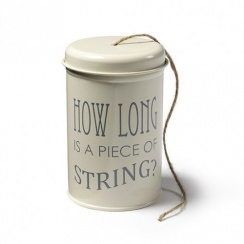 Burgon & Ball String in a Tin - Jersey Cream
