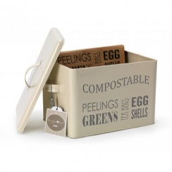 Burgon & Ball Compost Bin - Jersey Cream