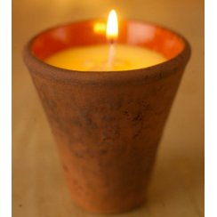 St Eval Victorian Herb Pot Candle - Bergamot & Nettle