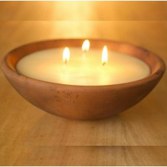 St Eval Victorian Herb Bowl Multiwick Candle - Bay & Rosemary