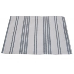 Grey Stripe Rectangular Placemat (45x30)