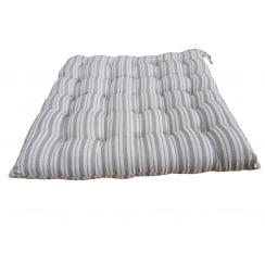 Dark Grey Stripe Seat Pad