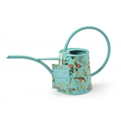 Burgon & Ball 1 Litre Indoor Metal Watering Can - Flora & Fauna