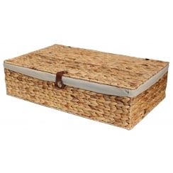 Water Hyacinth Underbed Storage Basket