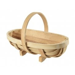 Burgon & Ball Traditional Wooden Trug Medium